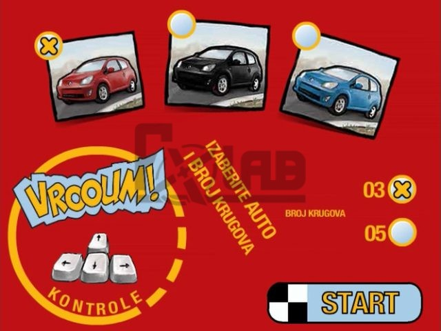 Renault Twingo promotional web game